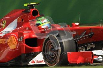 © Octane Photographic Ltd. 2011. Formula 1 World Championship – Italy – Monza – 9th September 2011 – Free practice 2, Ferrari F150 - Felipe Massa – Digital Ref : 0174CB7D6588