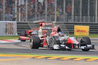 © Octane Photographic Ltd. 2011. Formula 1 World Championship – Italy – Monza – 10th September 2011 – Daniel Riciardo, HRT F111 Free practice 3 – Digital Ref :  0175CB1D2464