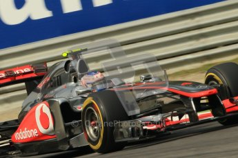 © Octane Photographic Ltd. 2011. Formula 1 World Championship – Italy – Monza – 10th September 2011 - Jenson Button, Vodafone McLaren Mercedes MP4/26 – Free practice 3 – Digital Ref : 0175CB1D2949