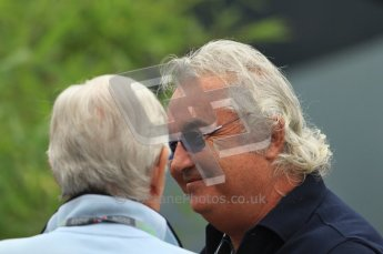© Octane Photographic Ltd. 2011. Formula 1 World Championship – Italy – Monza – 10th September 2011, Flavio Briatore – Free practice 3 – Digital Ref : 0175CB7D6669