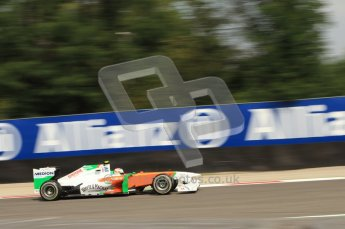 © Octane Photographic Ltd. 2011. Formula 1 World Championship – Italy – Monza – 10th September 2011 - Adrian Sutil, Force India VJM04 – Free practice 3 – Digital Ref : 0175CB7D6765