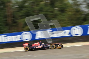 © Octane Photographic Ltd. 2011. Formula 1 World Championship – Italy – Monza – 10th September 2011, Sebastien Buemi, Toro Rosso STR6 – Free practice 3 – Digital Ref :  0175CB7D6797