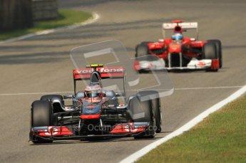© Octane Photographic Ltd. 2011. Formula 1 World Championship – Italy – Monza – 10th September 2011 – Qualifying – Digital Ref : 0176CB7D6950