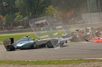 © Octane Photographic Ltd. 2011. Formula 1 World Championship – Italy – Monza – 11th September 2011 – Race – Digital Ref : 0177CB7D7860