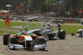 © Octane Photographic Ltd. 2011. Formula 1 World Championship – Italy – Monza – 11th September 2011 – Race – Digital Ref :  0177CB7D7940