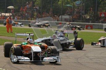 © Octane Photographic Ltd. 2011. Formula 1 World Championship – Italy – Monza – 11th September 2011 – Race – Digital Ref : 0177CB7D7940