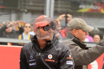 © Octane Photographic Ltd. 2011. Formula One Belgian GP – Spa – Sunday 28th August 2011 – Drivers' parade and starting grid. Digital Reference : 0167lw7d8204