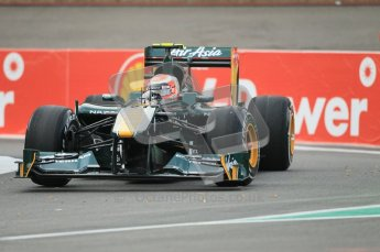 © Octane Photographic Ltd. 2011. Formula One Belgian GP – Spa – Friday 26th August 2011 – Free Practice 1, Jarno Trulli - Team Lotus TL128. Digital Reference : 0163CB1D6907