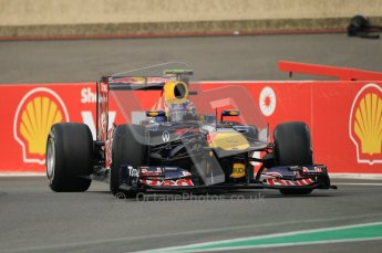 © Octane Photographic Ltd. 2011. Formula One Belgian GP – Spa – Friday 26th August 2011 – Free Practice 1, Mark Webber - Red Bull RB7. Digital Reference : 0163CB1D6977