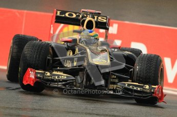 © Octane Photographic Ltd. 2011. Formula One Belgian GP – Spa – Friday 26th August 2011 – Free Practice 1, Bruno Senna - Renault R31. Digital Reference : 0163CB1D7085