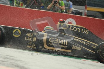 © Octane Photographic Ltd. 2011. Formula One Belgian GP – Spa – Friday 26th August 2011 – Free Practice 1, Bruno Senna - Renault R31. Digital Reference : 0163CB1D7183