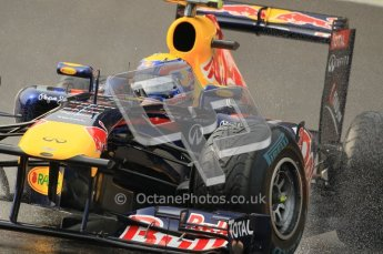 © Octane Photographic Ltd. 2011. Formula One Belgian GP – Spa – Friday 26th August 2011 – Free Practice 1, Mark Webber - Red Bull RB7. Digital Reference : 0163CB1D7204