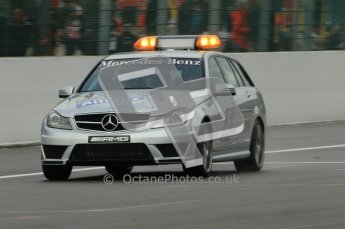 © Octane Photographic Ltd. 2011. Formula One Belgian GP – Spa – Friday 26th August 2011 – Free Practice 1, Mercedes C-Class Medical car. Digital Reference : 0163CB1D7262