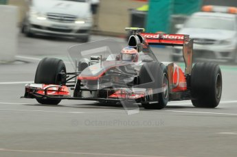 © Octane Photographic Ltd. 2011. Formula One Belgian GP – Spa – Friday 26th August 2011 – Free Practice 1, Jenson Button - Vodafone McLaren Mercedes MP4/26. Digital Reference : 0163CB1D7357