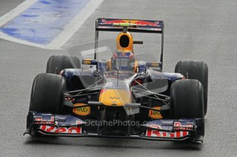 © Octane Photographic Ltd. 2011. Formula One Belgian GP – Spa – Friday 26th August 2011 – Free Practice 1, Mark Webber - Red Bull RB7. Digital Reference : 0163LW7D1423