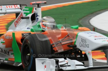© Octane Photographic Ltd. 2011. Formula One Belgian GP – Spa – Friday 26th August 2011 – Free Practice 2. Digital Reference : 0164LW7D3118