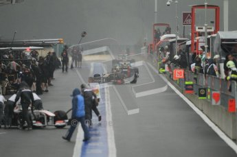 © Octane Photographic Ltd. 2011. Formula One Belgian GP – Spa – Saturday 27th August 2011 – Free Practice 3. Digital Reference : 0165CB1D0520
