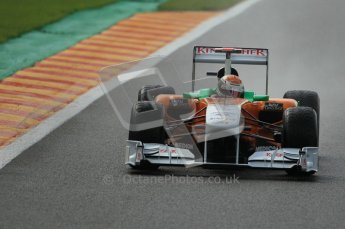 © Octane Photographic Ltd. 2011. Formula One Belgian GP – Spa – Saturday 27th August 2011 – Qualifying. Digital Reference : 0166CB1D0962