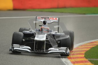 © Octane Photographic Ltd. 2011. Formula One Belgian GP – Spa – Saturday 27th August 2011 – Qualifying. Digital Reference : 0166CB1D1197