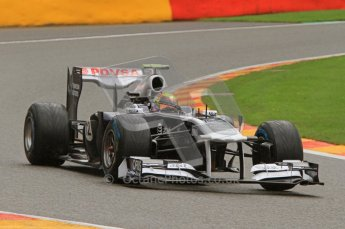 © Octane Photographic Ltd. 2011. Formula One Belgian GP – Spa – Saturday 27th August 2011 – Qualifying. Digital Reference : 0166LW7D6134