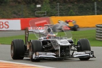 © Octane Photographic Ltd. 2011. Formula One Belgian GP – Spa – Saturday 27th August 2011 – Qualifying. Digital Reference : 0166LW7D6235