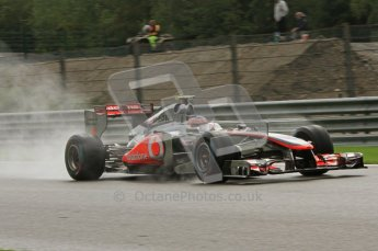 © Octane Photographic Ltd. 2011. Formula One Belgian GP – Spa – Saturday 27th August 2011 – Qualifying. Digital Reference : 0166LW7D6446