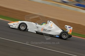 © Octane Photographic 2011. FIA F2 - 16th April 2011 - Race 1. Ramon Pineiro. Silverstone, UK. Digital Ref. CB7D0695