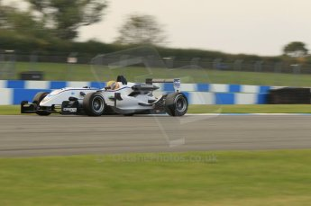 © Octane Photographic 2011 – British Formula 3 - Donington Park. 24th September 2011, Max Snegeriv - Hitech Racing - Dallara F308 Volkswagen. Digital Ref : 0182lw7d7576