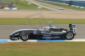 © Octane Photographic 2011 – British Formula 3 - Donington Park. 24th September 2011, Kevin Magnussen - Carlin - Dallara F308 Volkswagen. Digital Ref : 0182lw1d5534