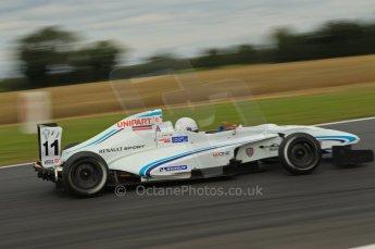 © Octane Photographic Ltd. 2011. Formula Renault 2.0 UK – Snetterton 300, Oscar King - Atech Reid GP. Saturday 6th August 2011. Digital Ref : 0122CB1D3023