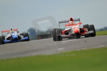 © Octane Photographic Ltd. 2011. Formula Renault 2.0 UK – Snetterton 300, Alex Lynn - Fortec Motorsports followed by Oliver Rowland - Fortec Motorsports. Saturday 6th August 2011. Digital Ref : 0122CB7D8945