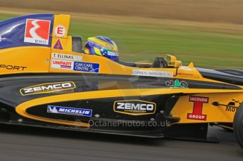 © Octane Photographic Ltd. 2011. Formula Renault 2.0 UK – Snetterton 300, Tio Ellinas - Atech Reid GP. Saturday 6th August 2011. Digital Ref : 0122LW7D0204