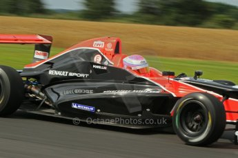 © Octane Photographic Ltd. 2011. Formula Renault 2.0 UK – Snetterton 300, Alice Powell - Manor Competition. Saturday 6th August 2011. Digital Ref : 0122LW7D0248