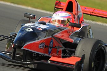 © Octane Photographic Ltd. 2011. Formula Renault 2.0 UK – Snetterton 300, Alice Powell - Manor Competition. Sunday 7th August 2011. Digital Ref : 0123CB1D3738