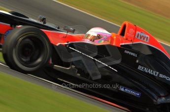 © Octane Photographic Ltd. 2011. Formula Renault 2.0 UK – Snetterton 300, Alice Powell - Manor Competition. Sunday 7th August 2011. Digital Ref : CB1D3778