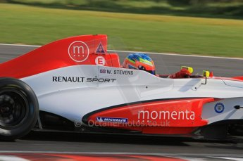 © Octane Photographic Ltd. 2011. Formula Renault 2.0 UK – Snetterton 300, Will Stevens - Fortec Competition. Sunday 7th August 2011. Digital Ref : 0123LW7D0053