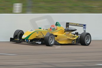 © Octane Photographic Ltd. The British F3 International & British GT Championship at Rockingham. Support Series - Dunlop MSA Formula Ford Championship of Great Britain. Felipe Nasr on track. Digital Ref: 0188CB1D0264