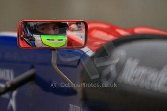 © Octane Photographic Ltd. The British F3 International & British GT Championship at Rockingham. Will Buller perparing to head out on track. Digital Ref: 0188LW7D2491