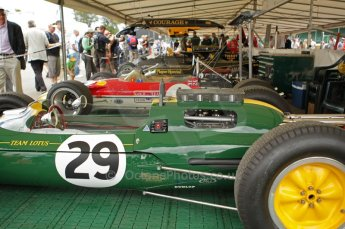 © Octane Photographic 2011. Goodwood Festival of Speed, Thursday 30th June 2011. Classic Team Lotus. Digital Ref : 0097CB1D9892