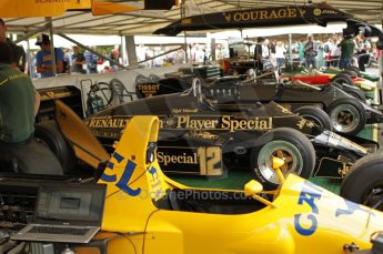 © Octane Photographic 2011. Goodwood Festival of Speed, Thursday 30th June 2011. Classic Team Lotus. Digital Ref : 0097CB1D9903