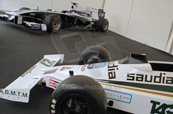 © Octane Photographic 2011. Goodwood Festival of Speed, Thursday 30th June 2011. Williams FW07 and 2010 car. Digital Ref : 0097CB1D9929