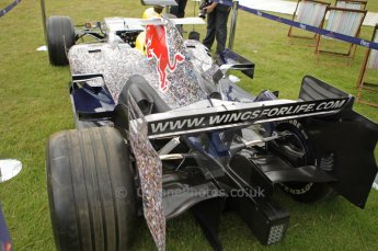 © Octane Photographic 2011. Goodwood Festival of Speed, Thursday 30th June 2011. Red Bull Racing RB3 - Silverstone car. Digital Ref : 0097CB1D9942