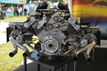 © Octane Photographic 2011. Goodwood Festival of Speed, Friday 1st July 2011. Renault V6 Turbo. Digital Ref : 0097CB1D9980