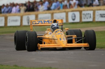 © Octane Photographic 2011. Goodwood Festival of Speed, Friday 1st July 2011. Lotus 102. Digital Ref : 0097CB7D6850