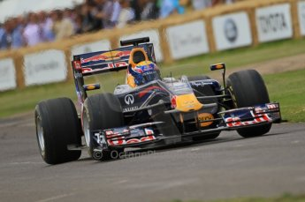 © Octane Photographic 2011. Goodwood Festival of Speed, Friday 1st July 2011. Red Bull Racing RB6 - Mark Webber. Digital Ref : 0097CB7D6884
