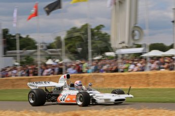 © Octane Photographic 2011. Goodwood Festival of Speed, Friday 1st July 2011. McLaren M19A. Digital Ref : 0097LW7D8720