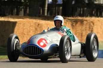 © Octane Photographic 2011. Goodwood Festival of Speed, Historic F1 Mercedes, Friday 1st July 2011. Digital Ref : 0101CB1D5494