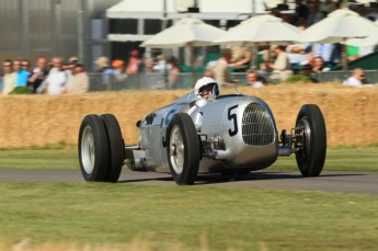 © Octane Photographic 2011. Goodwood Festival of Speed, Historic F1 Auto Union, Friday 1st July 2011. Digital Ref :