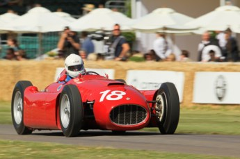 © Octane Photographic 2011. Goodwood Festival of Speed, Historic F1 Lancia D50, Friday 1st July 2011. Digital Ref :