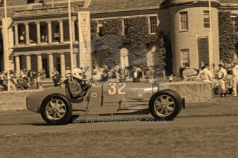 © Octane Photographic 2011. Goodwood Festival of Speed, Friday 1st July 2011. Digital Ref : 0101CB17539-sepia